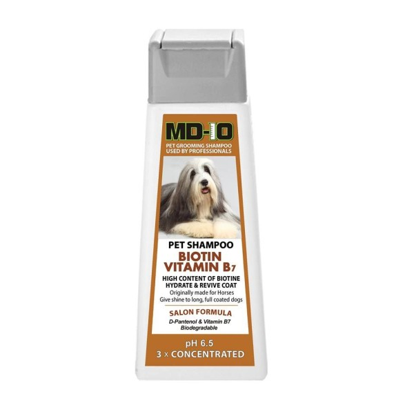 MD 10 – Pet shampoo long full coats